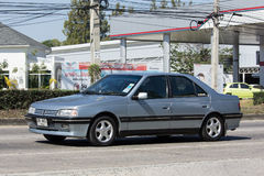 私人汽车,标致汽车306 免版税图库摄影