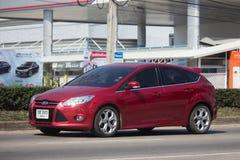 私人汽车,福特焦点 免版税库存照片