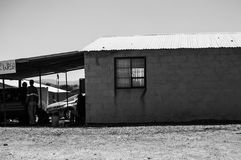 私人汽车洗涤,自由州,南非 图库摄影
