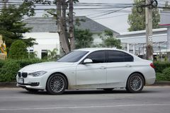私人汽车 320d bmw 免版税库存图片