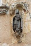 私有中世纪家的Châteaudun -法国 库存照片