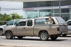 私有丰田Hilux老虎卡车 库存图片