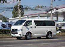 私有丰田Ventury搬运车 免版税库存照片