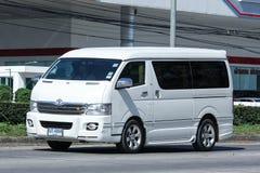 私有丰田Ventury搬运车 免版税图库摄影