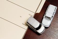 私有伤害的诉讼 免版税库存图片