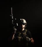 私有军事承包商PMC 库存图片