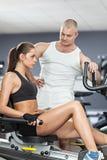 私有培训人锻炼 库存图片