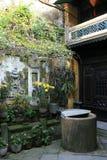 私有家的会安市-越南 库存图片