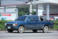 私有拾起卡车,丰田Hilux老虎 库存图片