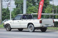 私有拾起卡车,老福特传讯者 图库摄影