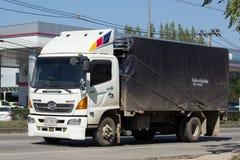 私有日野货物卡车 图库摄影