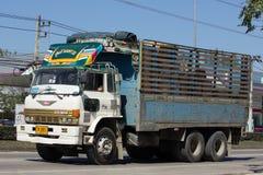 私有日野货物卡车 免版税图库摄影