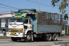 私有日野货物卡车 库存照片