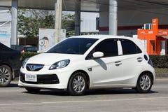 私有本田精力充沛, Eco市汽车 免版税库存照片