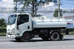 私有污水卡车 免版税库存图片