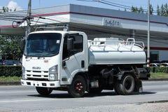 私有污水卡车 免版税库存照片