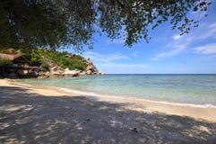 私有海滩酸值陶海岛 库存照片