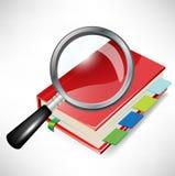 私有玻璃扩大化的组织者 免版税库存照片
