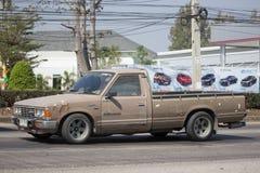 私有老提取汽车、日产或者Datsan 1500 免版税库存照片