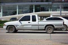 私有老提取汽车,丰田Hilux强大X 免版税库存图片