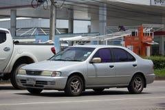 私有老汽车晴朗的日产 免版税库存图片