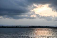 私有船只 免版税库存照片