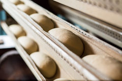 私有面包店 面包烤箱 库存照片