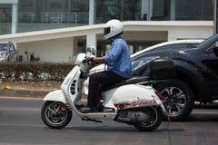 私有滑行车摩托车大黄蜂类 免版税库存图片