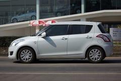 私有Eco市汽车快速的铃木 免版税库存图片
