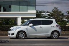 私有Eco市汽车快速的铃木 图库摄影