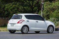 私有Eco市汽车快速的铃木 库存照片