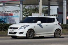 私有Eco市汽车快速的铃木 库存图片