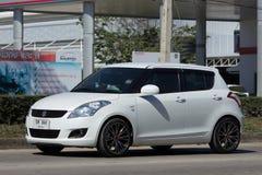私有Eco市汽车快速的铃木 免版税图库摄影