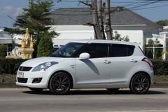 私有Eco市汽车快速的铃木 免版税库存照片