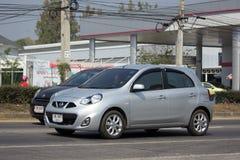 私有Eco汽车日产3月 库存图片