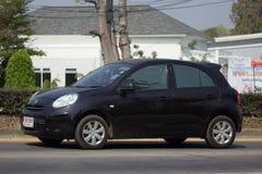 私有Eco汽车日产3月 图库摄影