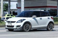 私有Eco汽车,快速的铃木 库存图片