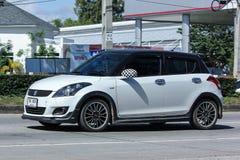 私有Eco汽车,快速的铃木 库存照片