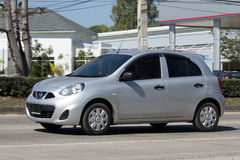 私有Eco汽车,日产3月 库存图片