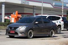 私有Eco汽车,日产Almera 免版税图库摄影