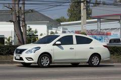 私有Eco汽车,日产Almera 图库摄影