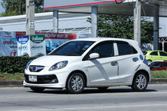 私有eco汽车,本田精力充沛 库存照片