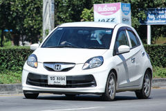 私有eco汽车,本田精力充沛 免版税库存图片