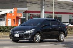 私有Eco汽车,铃木Ciaz 免版税库存图片