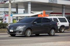 私有Eco汽车,铃木Ciaz 库存图片