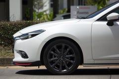 私有Eco汽车, Mazda2 免版税库存图片