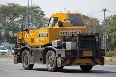 私有TADANO Crevo 100起重机卡车 库存照片