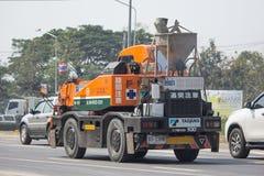 私有TADANO Crevo 100起重机卡车 免版税图库摄影