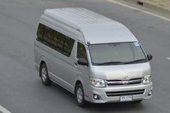 私有van car丰田搬运车 免版税图库摄影