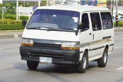 私有van car丰田搬运车 库存图片